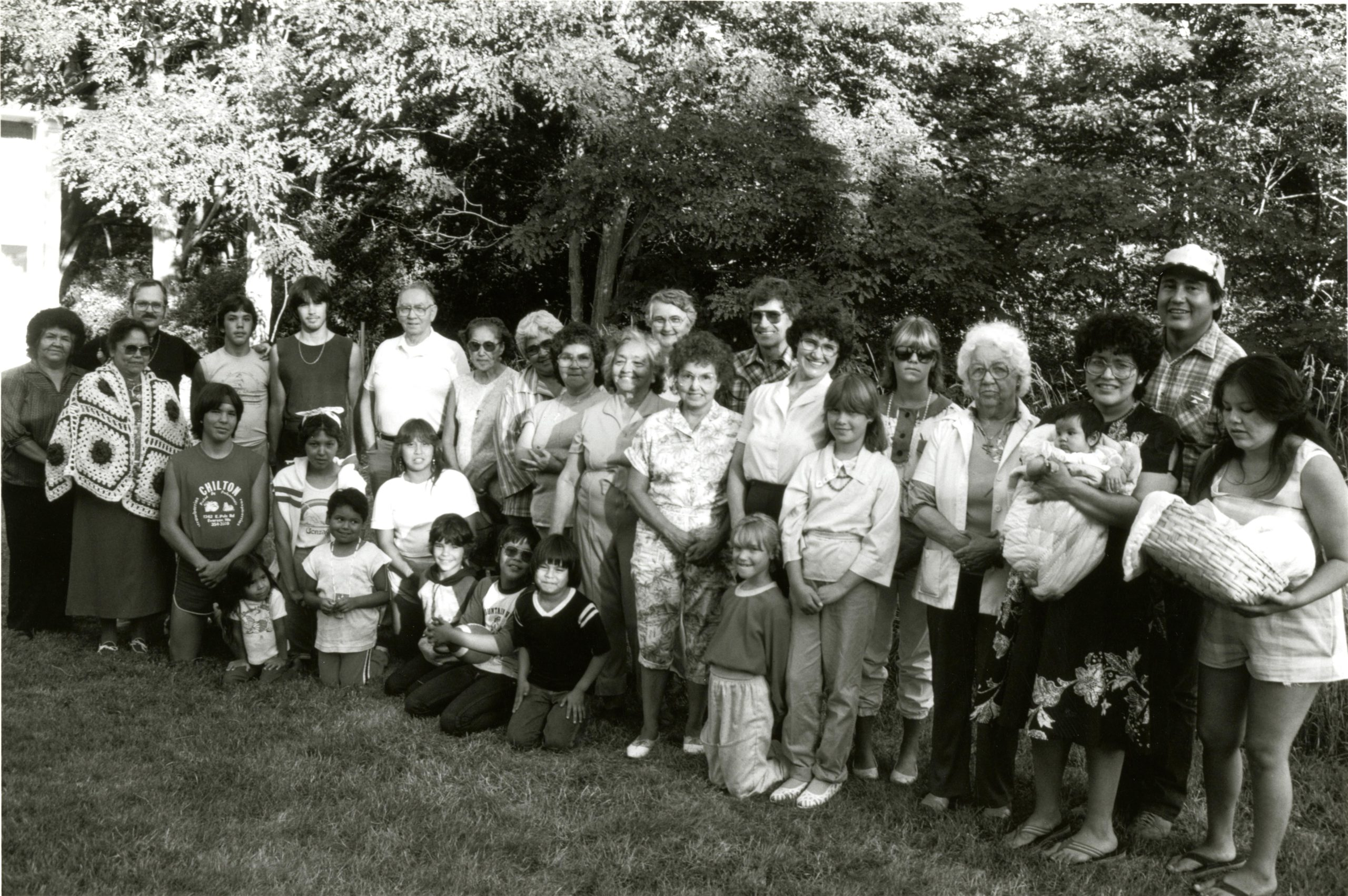 Parishioners of St. Joachim Mission, 1984. VR700.01234
