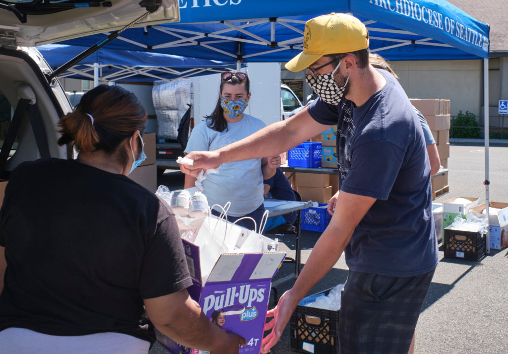 agape, food bank, service, young adults, farmworkers