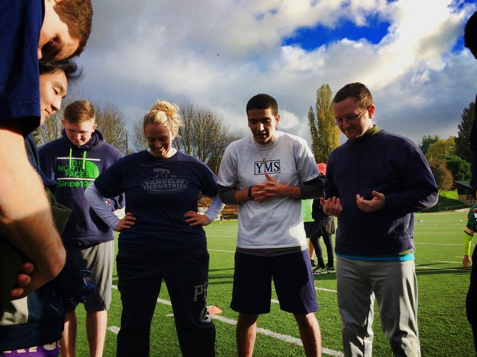 young adults sports opening prayer