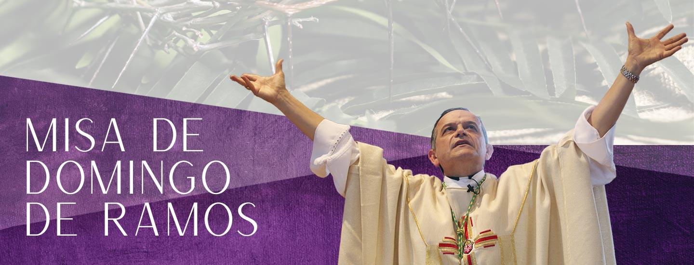 Bishop Elizondo Palm Mass 2021