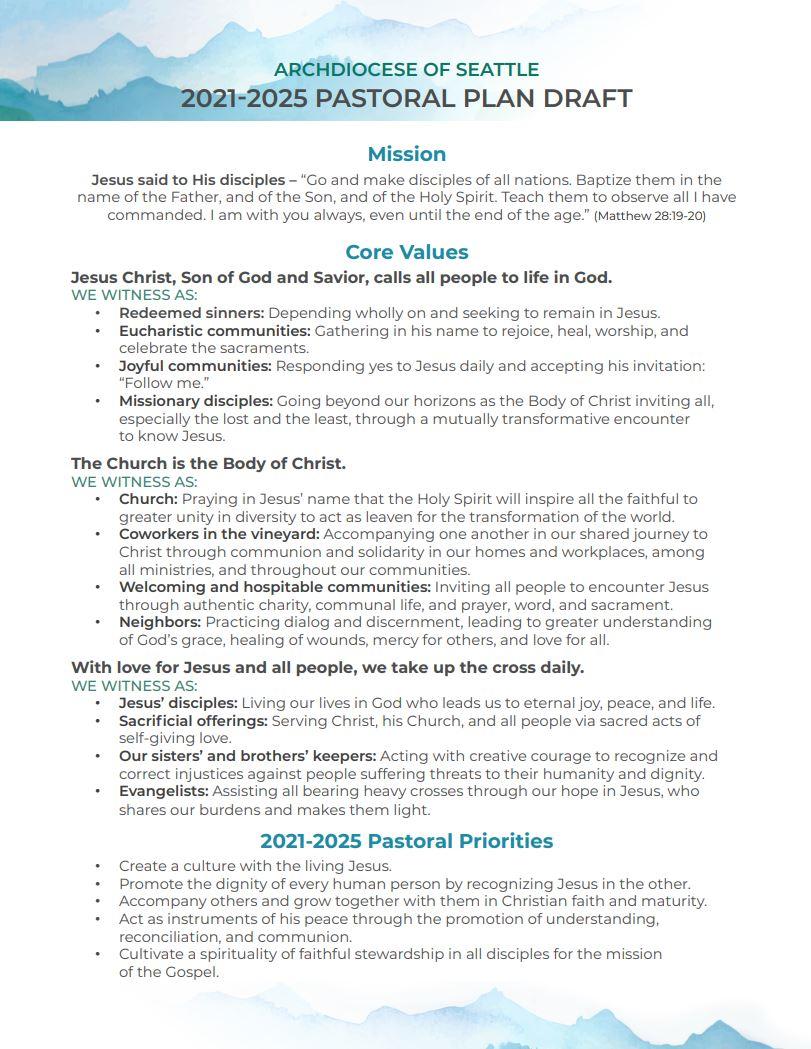 Pastoral Plan draft screen