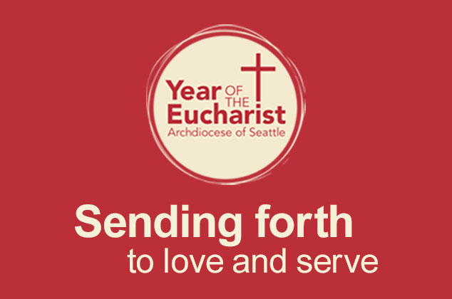 Sending forth to love and serve